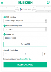 voucher google play via pulsa